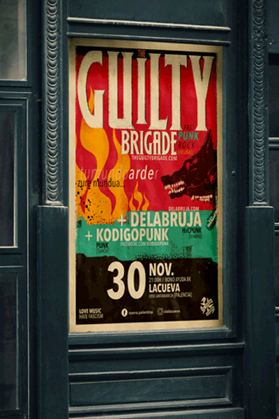 The Guilty Brigade en la Cueva